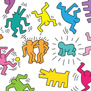 Keith Haring - ein tolles Projekt für den Kunstunterricht