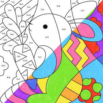 Pop-Art – Mathe: Ostern