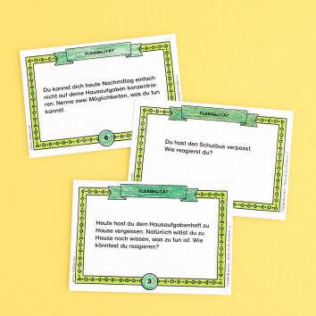 Impulskarten aus dem Karten-Set Arbeitstechniken - Flexibilität