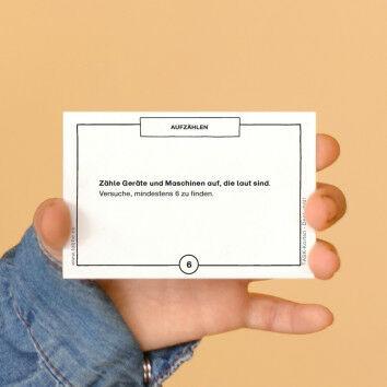 TASK-Karten: Denk mal! Aufzählen