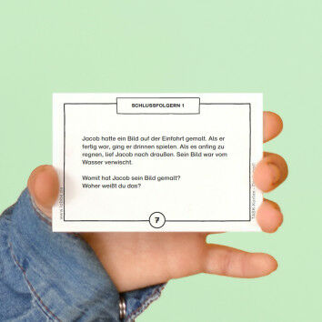 TASK-Karten: Denk mal! Schlussfolgern 1
