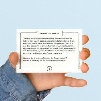 TASK-Karten: Denk mal! Ursache und Wirkung