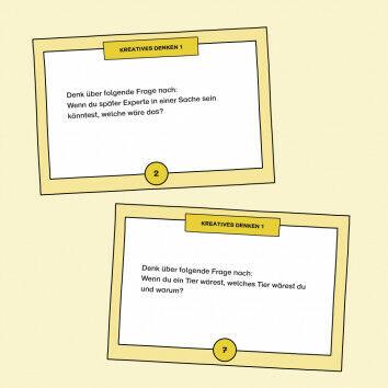 Aufgabenkarten zum Kreativen Denken