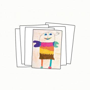 Zeichenblockpapier zum Zeichnen