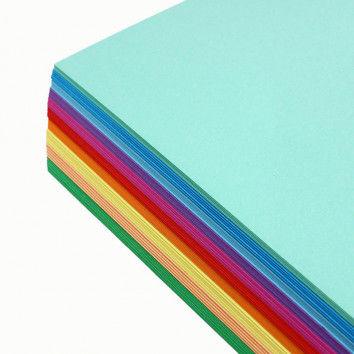 Tonpapier-Sortiment hell, 100 Bogen, 35 x 50 cm