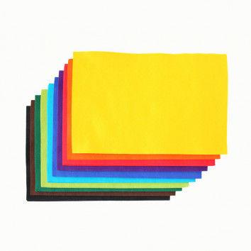 Filzplatten, Sortiment