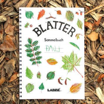 Blätter-Sammelbuch
