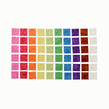 Transparentmosaik, 10.000 Stück
