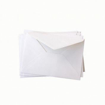 Briefhüllen, weiß