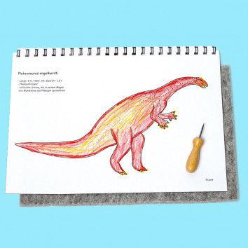 Dino-Prickelbuch für Kinder