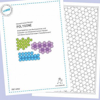 Geometrische Flächen - Polygone PDF | Labbé
