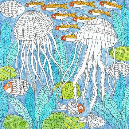 Ausmalbilder Meereswelten Pdf Labbé