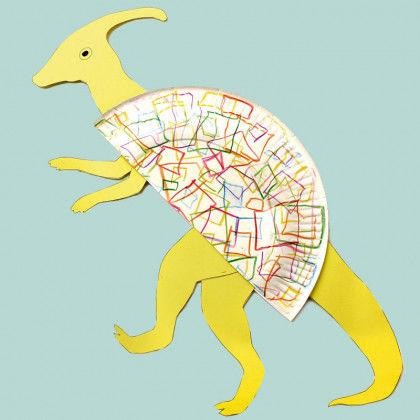 Dinosaurier Aus Papptellern Pdf Labbé