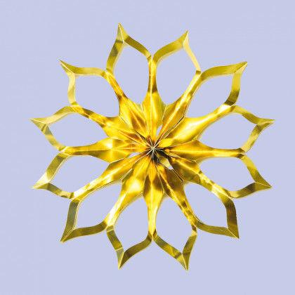 Weihnachtsbasteln Sterne Aus Goldpapier.Scherenschnitt Goldsterne Pdf