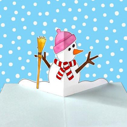 Pop Up Karten Winter Pdf