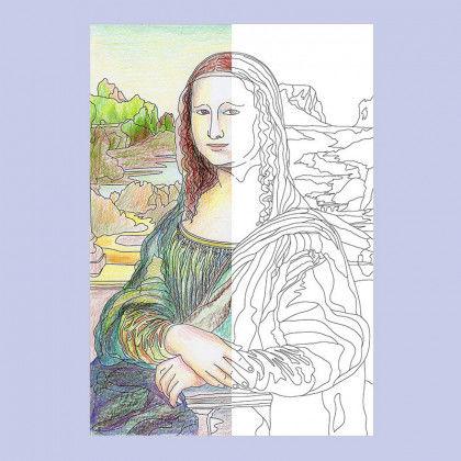 Leonardo da Vinci - Mona Lisa PDF | Labbé