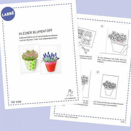 Kleiner Blumentopf PDF | Labbé
