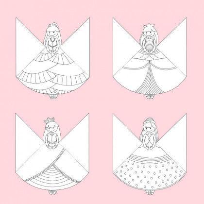 Lesezeichen Prinzessinnen Pdf