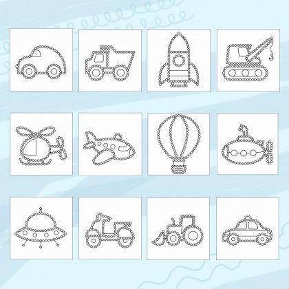 Sommer Punktmalerei Unterrichtsmaterial Zum Download