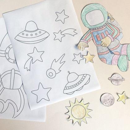 Astronauten Im Weltall Pdf Labbe