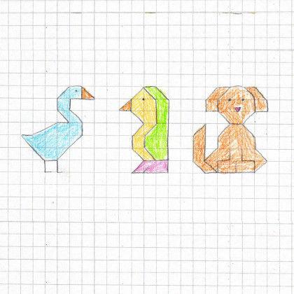 10 Kastchen Zeichnen Ideen Pixel Kunst Geometrische 8