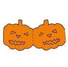 Papierketten - Halloween