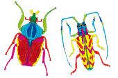 Käferwelt - Naturornamente
