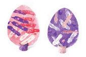 Fingerdruck-Ostereier