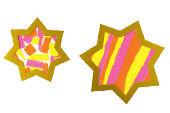 Neon-Goldsterne