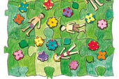 Ich & Wir Puzzle Sommerwiese