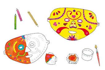 Calavera-Masken