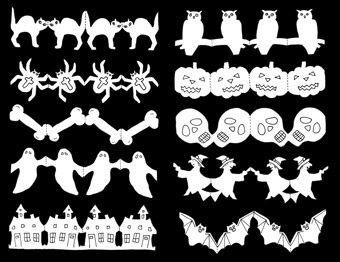 Papierketten - Halloween PDF
