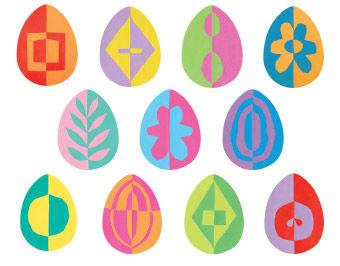 Klappschnitt-Eier
