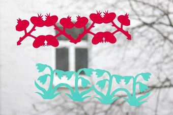 "Papierketten ""Im Winter"" PDF"