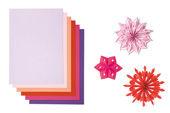 Druckerpapier, rosa-rot
