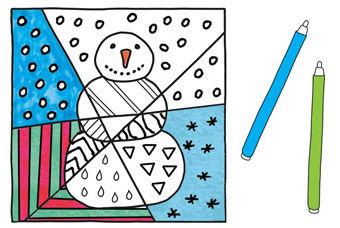 Pop-Art Monatsblätter PDF