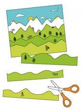 Erstes Schneiden mit Streifenbildern