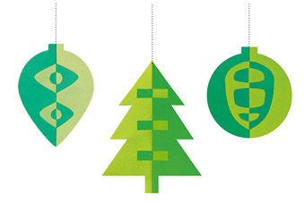 Weihnachtsklappschnitt
