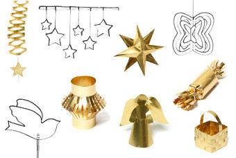 Goldener Weihnachtsschmuck PDF