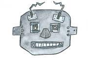 Roboter-Masken